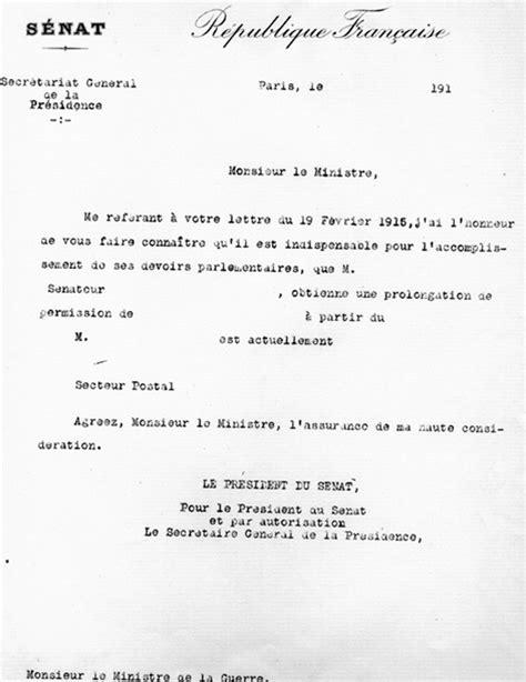 Demande De Permission Lettre Dossiers D Histoire 1914 1918 La Grande Guerre Vue Des Commissions Du S 233 Nat S 233 Nat