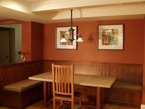 craftsman style home craftsman dining room san
