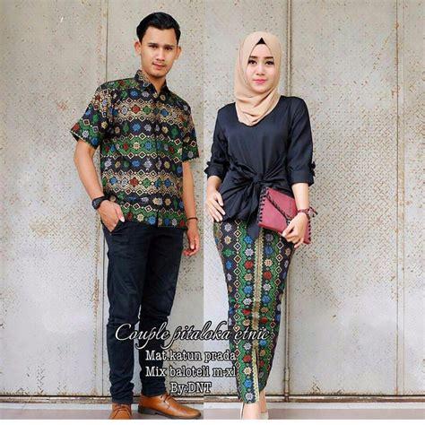 murah batik baju batik sarimbit pitaloka etnic