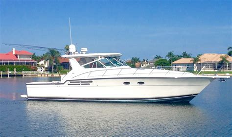 used tiara boats for sale in florida tiara 4300 open 2001 used boat for sale in dania beach