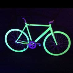 glow in the paint bicycle the world s catalogue of ideas