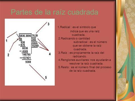 pasos para hacer una raiz cuadrada ra 237 ces cuadradas 205 ndice ppt descargar