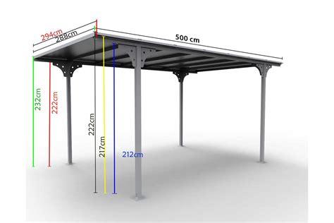 tettoia posto auto tettoia per posto auto in alluminio e policarbonato car