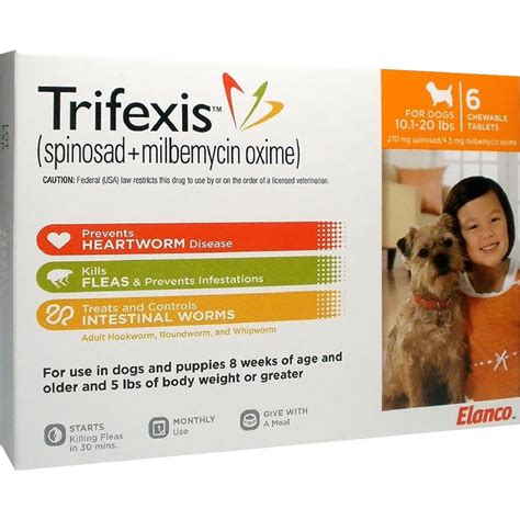 trifexis for dogs trifexis for dogs 10 1 20 lbs 6 mnth