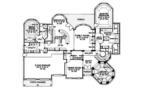 Manor House Plans by Manor House Floor Plan Houseplansandmore