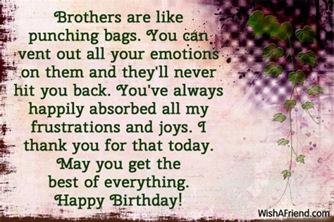 Quotes For Your Brothers Birthday Birthday Quotes For Your Brother Quotesgram