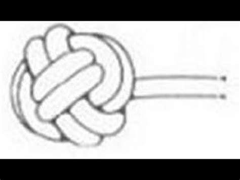 nudo de boton nudo de boton es facil de hacer nudo de boton es