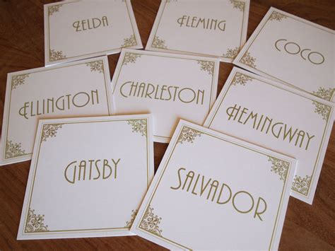 Table Names Wedding Deco Table Name Cards Table Numbers Table Names Wedding Vintage Style Deco