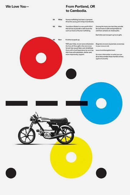 graphic design layout types portland loves cambodia poster via flickr via graphic
