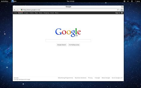 by web gnome s reved web browser is minimal mighty omg