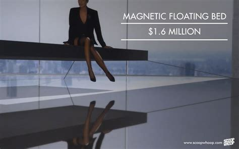 magnetic floating bed 17 most expensive things on this planet