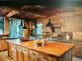 cabin kitchen kitchen design pinterest