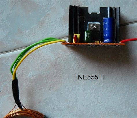 alimentatore wireless schema alimentatore wireless ne555