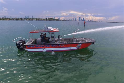 electric boat fire department equipping fire and rescue boats for service fire apparatus