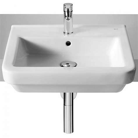 hand basins for bathrooms roca dama n 520mm semi recessed hand basin uk bathrooms