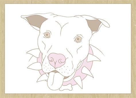 doodle wiki how how to draw a pitbull with pictures wikihow