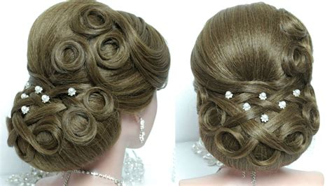 Wedding Hairstyles For Hair Tutorial by Bridal Updo Wedding Hairstyle For Hair Tutorial