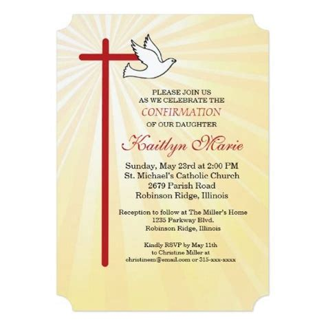 Confirmation Invitation Cards Template by 187 Best Images About Religious Christian On