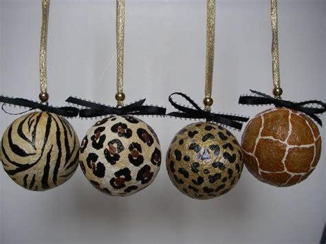 animal print leopard zebra decorative ornaments display