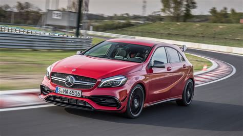 mercedes amg 45 mercedes amg a45 2017 review by car magazine