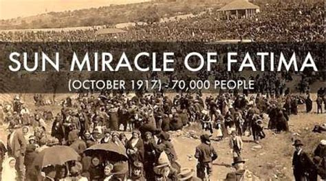 The Miracle Of Our Of Fatima The Real Third Secret Of Fatima Explains The Chaos