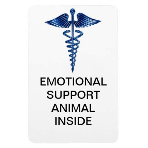 how to make your an emotional support emotional support animal inside magnet zazzle