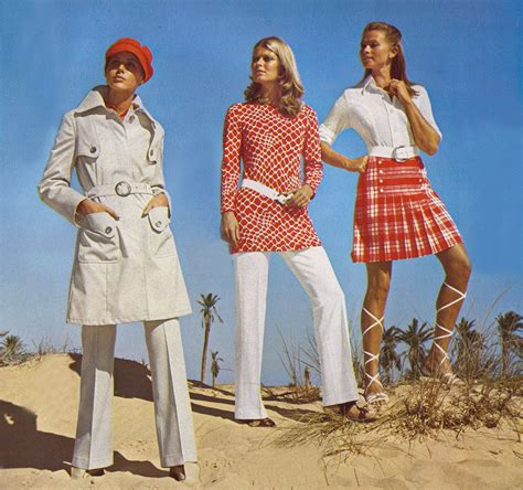 1970s Wardrobe by The 1970s 1971 Fashion Mo Flickr