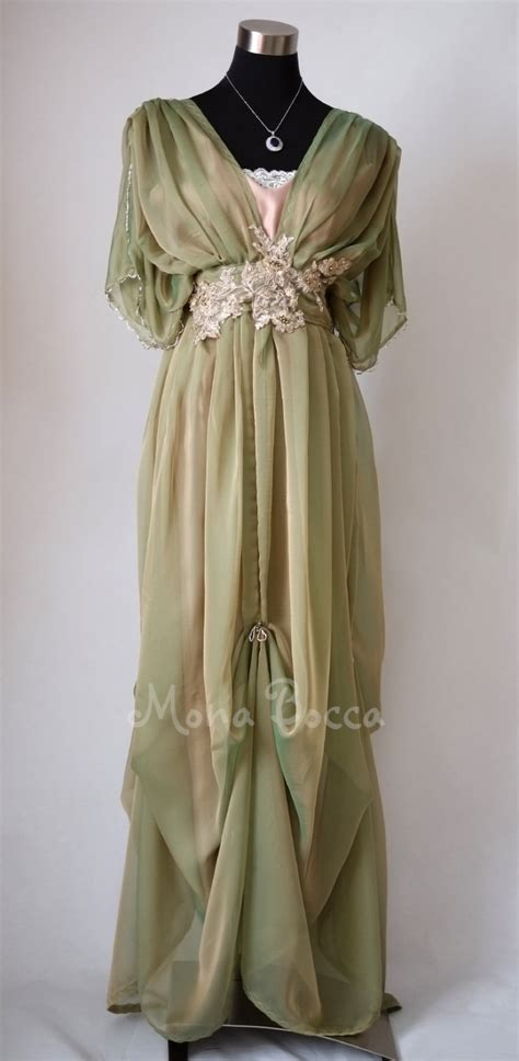 Handmade In Uk - edwardian evening dress handmade in