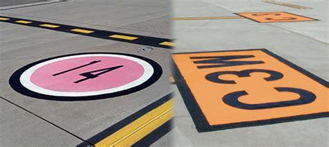 color safe color safe airport markings