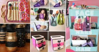Recycled Wedding Decorations 25 Brilliant And Easy Diy Makeup Storage Ideas Cute Diy
