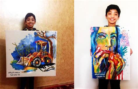 painting for 12 year olds why this 12 year artist refused to be called quot the arab