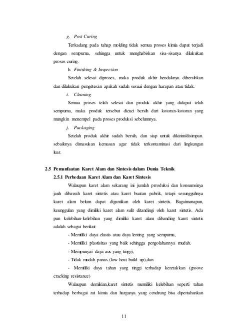 Pengetahuan Bahan Teknik makalah pengetahuan bahan teknik karet