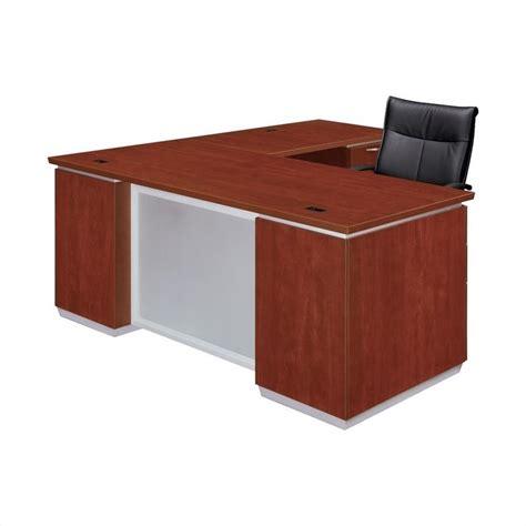 Dmi Pimlico Laminate Executive 72 In Right L Shaped Desk Right L Shaped Desk