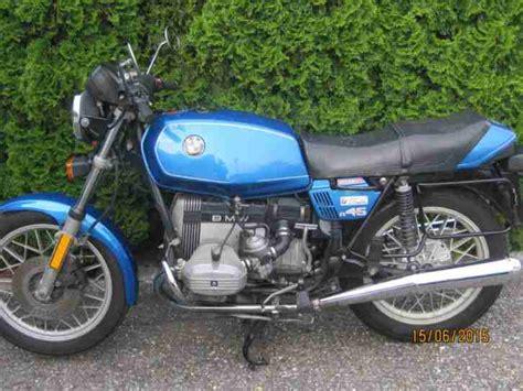 Bmw Motorrad R 45 Gebraucht bmw motorrad r45 bestes angebot bmw