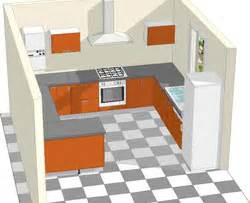 implantation cuisine avec retour bar ou passe plat