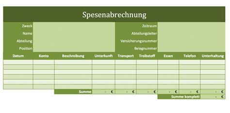 Vorlage Spesenabrechnung Schweiz Spesenabrechnung Als Excelvorlagen Excel Vorlagen F 252 R Jeden Zweck
