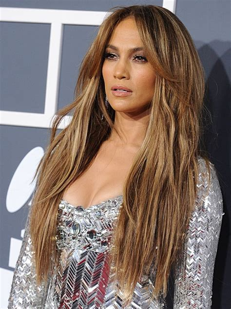 the hair color evolution of jennifer lopez grammys 2011 the must see beauty looks beautiful my