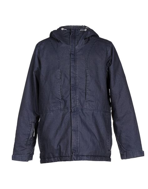 bench jacket mens bench jacket in blue for men lyst