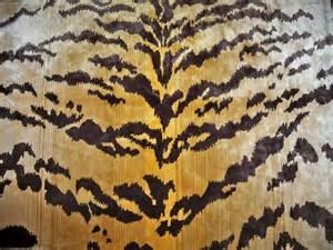 Leopard Print Velvet Upholstery Fabric Lee Jofa Tiger Tigre Silk Velvet Fabric