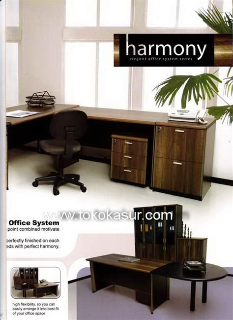 Ufd 8171 Uno Laci Gantung Meja Tulis meja tulis uno meja kantor uno