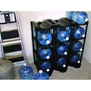 5 gallon water bottle storage rack images