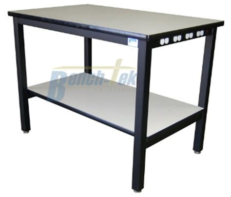laboratory work benches lab equipment workbench with outlet inlay bench tek solutions