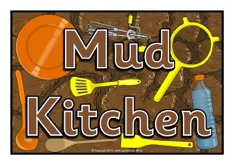 Mud Kitchen Labels Eyfs Mud Kitchen Signs And Labels Sparklebox