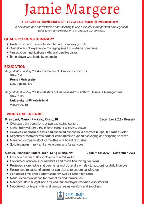 resume format 2018 sle best executive resume exles 2018 that work