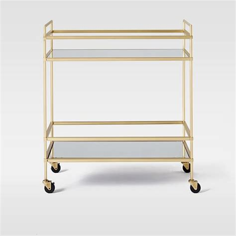 bar carts terrace bar cart west elm