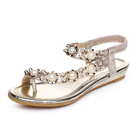 Bridal Sandals by Bridal Flat Sandals Wedding Www Pixshark Images