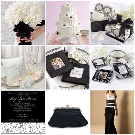 wedding themes wedding style a black and white wedding