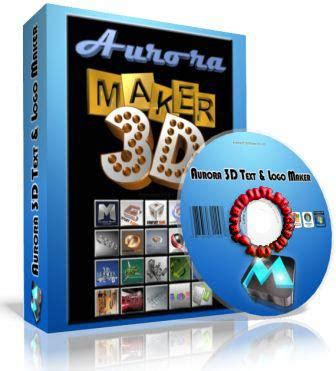 3d logo maker software free download full version with crack aurora 3d text and logo maker full version free download
