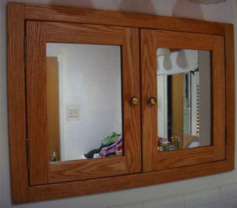 Double door medicine cabinet with mirror or solid door