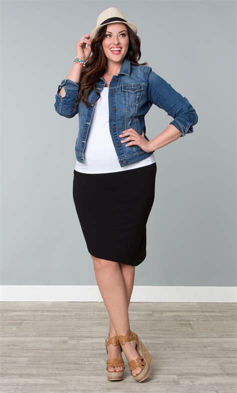 plus size white jean skirt am